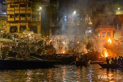 Ganges Cremation Ceremony