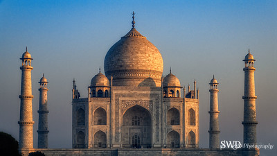 The Taj Mahal in the Morning Sun