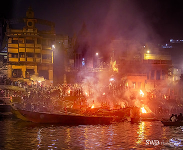 Cremation on the Ganges