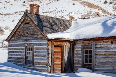This old building is part of Bannack Ghost Town, now Bannack State Park, Montana.  The town was the first capitol of the state of Montana.  This photo won Third Place in the Building/Architecture Category, Adult Advanced Division, Big Sky Country State Fair 2019, Bozeman, MT.