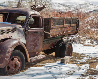 Old truck at the River of Gold mining museum between Virginia City and Nevada City, Montana.  This photo won first place in the Still Life category, Adult Advanced Division, at the Big Sky Country State Fair 2018 in Bozeman, MT.