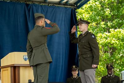 Hood ROTC Commissioning Ceremony