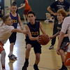 STAN HUDY - SHUDY@DIGITALFIRSTMEDIA.COM<br /> A player from Z53 drives to the basket during the Hoops4Kids annual 3-v-3 tournament held at Koda Middle School. Saturday, March 24, 2017.