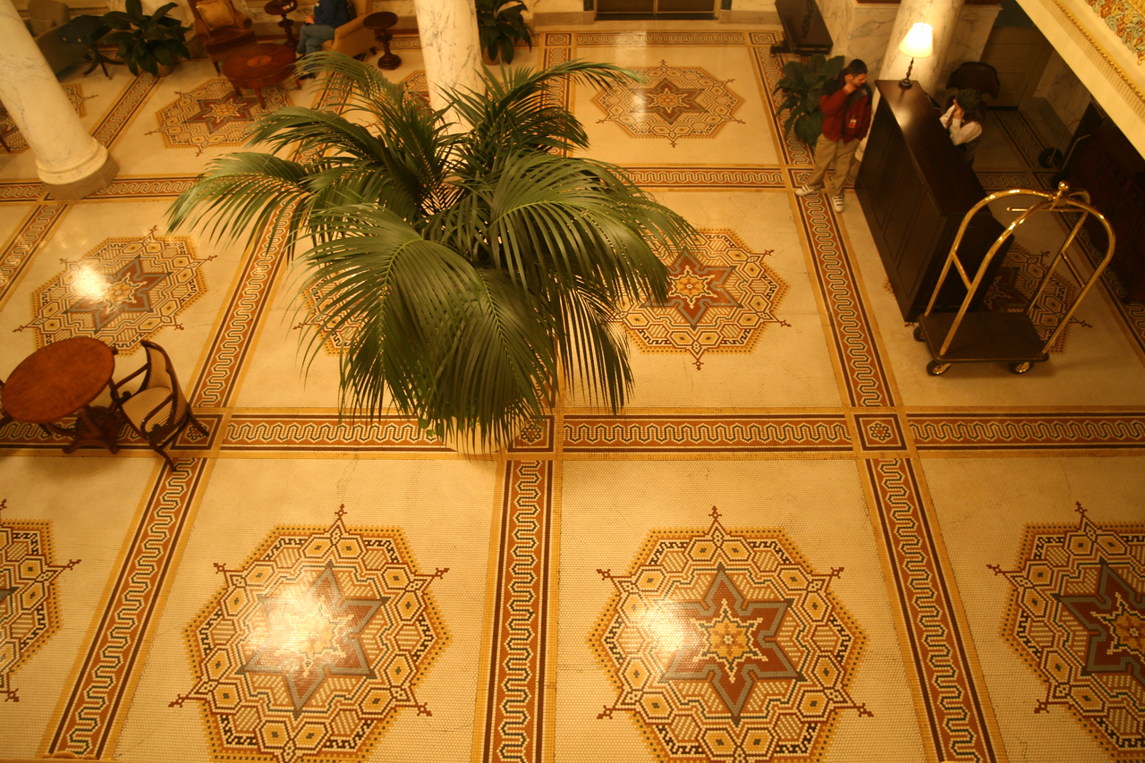 Italian mosaic floors