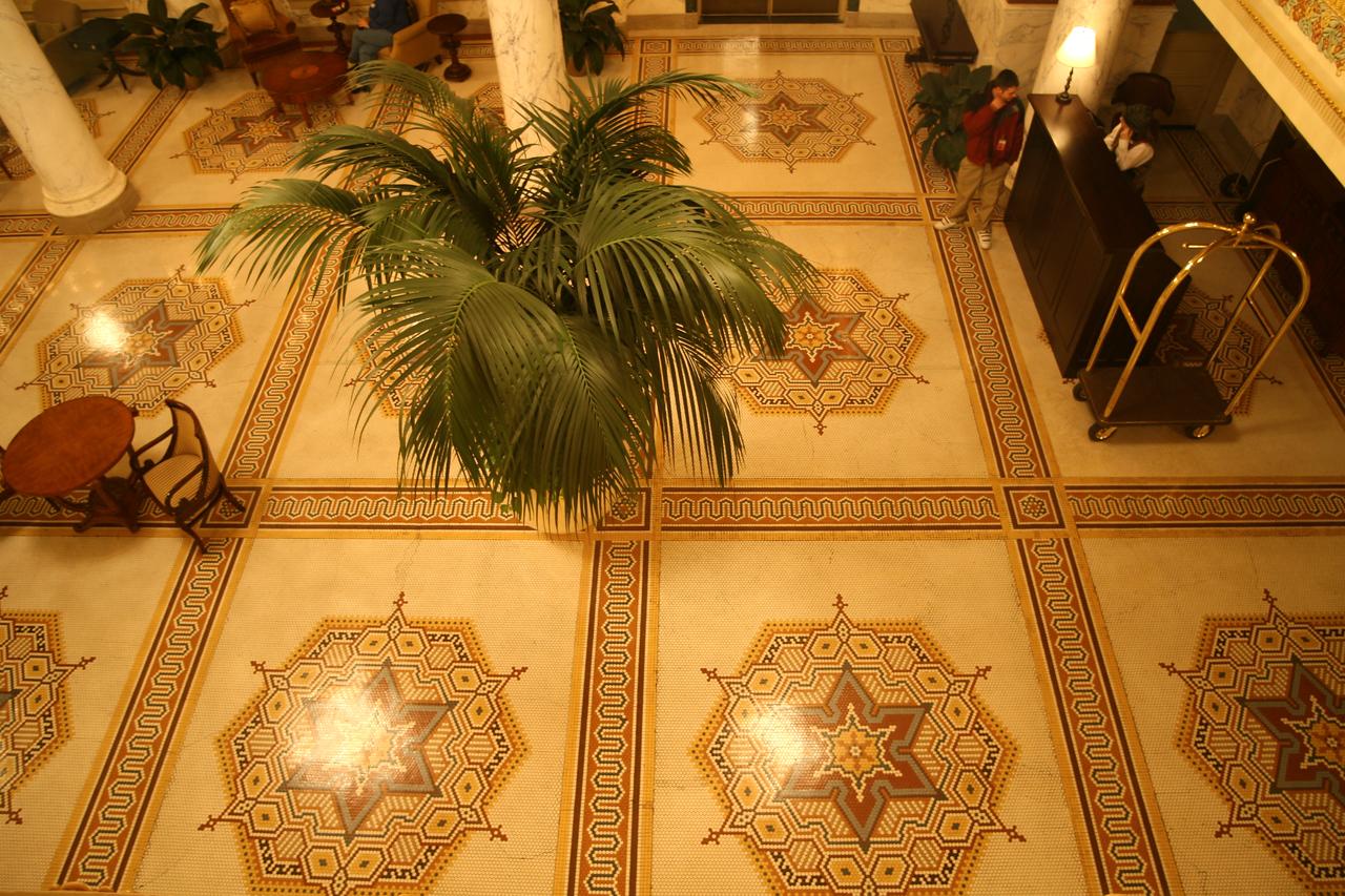 Italian mosaic floors