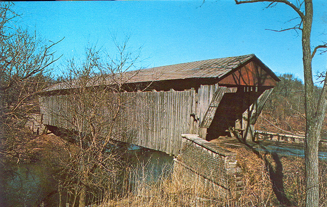 Brownsville Covered Bridge, Union County, Indiana.