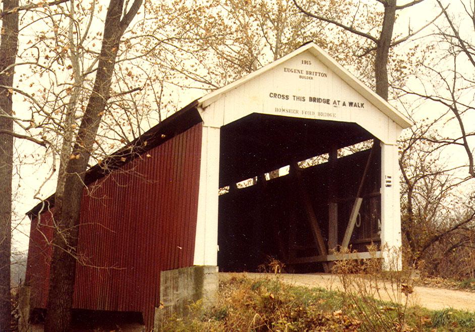 Bowsher Ford Bridge, Nov 1981.