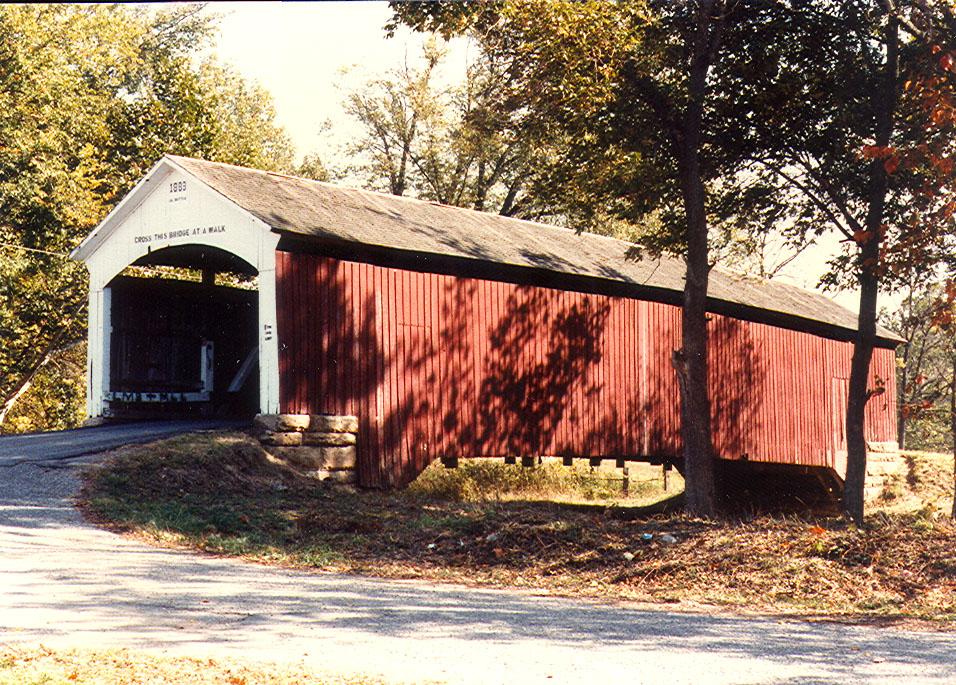 Sim Smith Covered Bridge, Parke County, Indiana