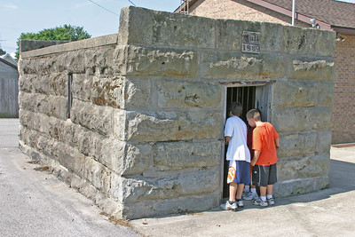 1909 Jail in Birdseye, Indiana, July 13, 2006.