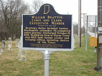See previous photo for other side of marker.
