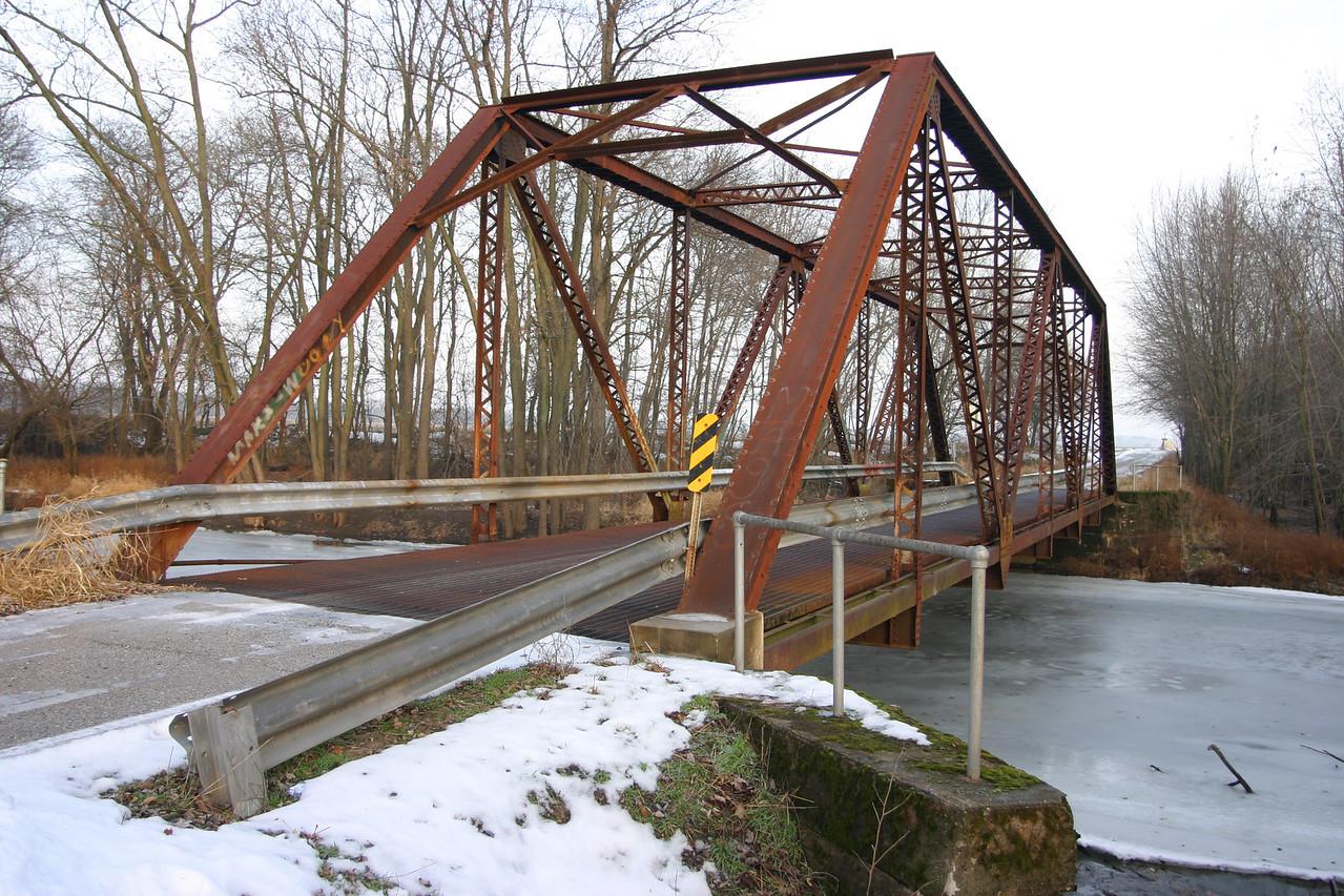 Jasper County, Indiana - 700 S 650 E.  Crosses the Iroquois River.