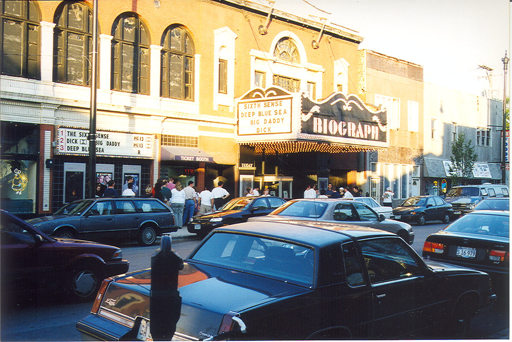 Chicago's Biograph Theatre where Dillinger was killed in 1934.