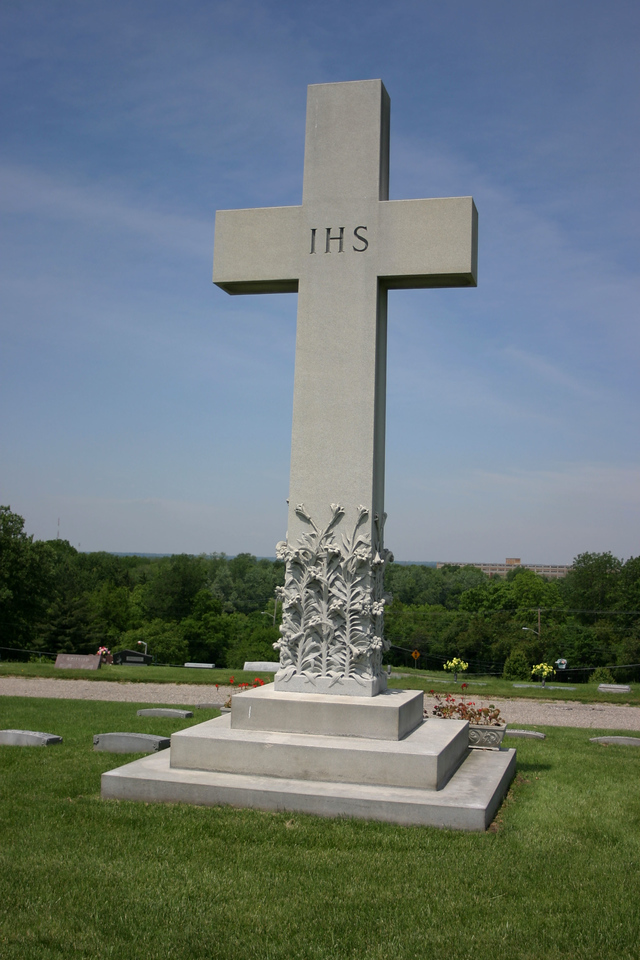 Anton Tony Hulman, Calvary Cemetery, Terre Haute, Indiana.