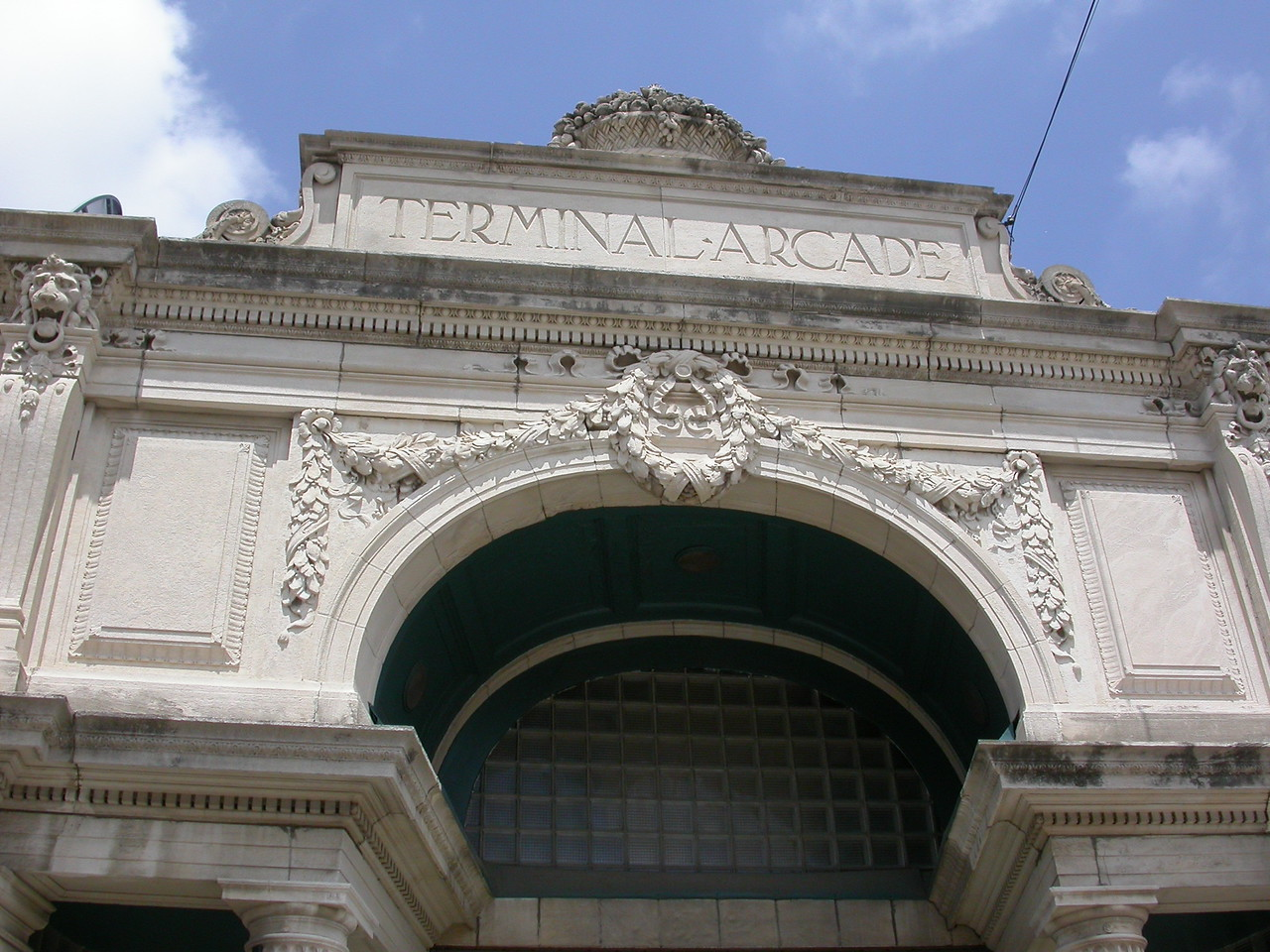 The Terminal Building, 9th and Wabash Avenue, Terre Haute, Indiana. May 2004.
