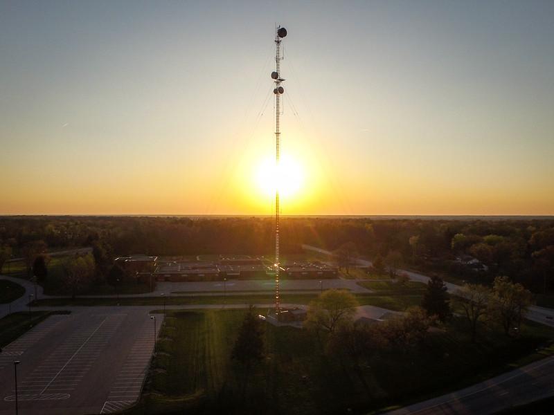Sunset Sunrise Tower