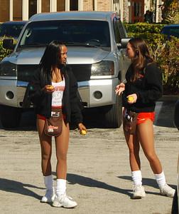01 Hooter Girls in Parking Lot