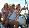 021 Hooters of Sanford Hooter 3 Girls on Motorcycle