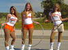 001 Hooters of Sanford 3 girls Hula Hoops