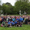 Trail runners compete in Hope24, Plympton, Devon, UK, 14th and 15th May 2016.