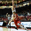 Class 4A boys semifinal State High School Tournament basketball game between Las Vegas Robertson and Hope Christian played Friday, March 10, 2017 at The Pit, Albuquerque. Clyde Mueller/The New Mexican