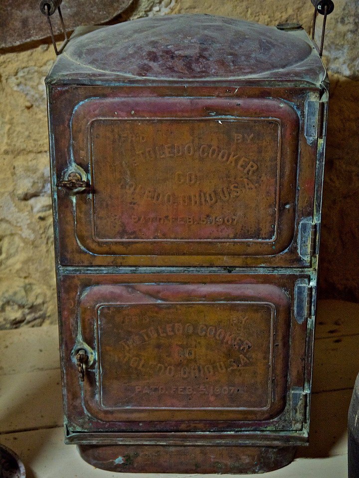 A Toledo Cooker from the Cellar Display