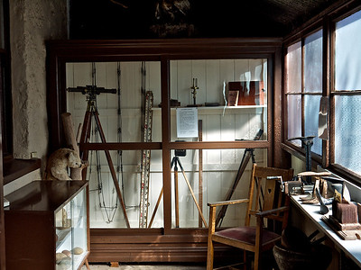 Early Surveying Equipment from the Verandah Display