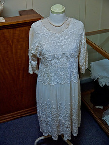 Part of the Clothing Display