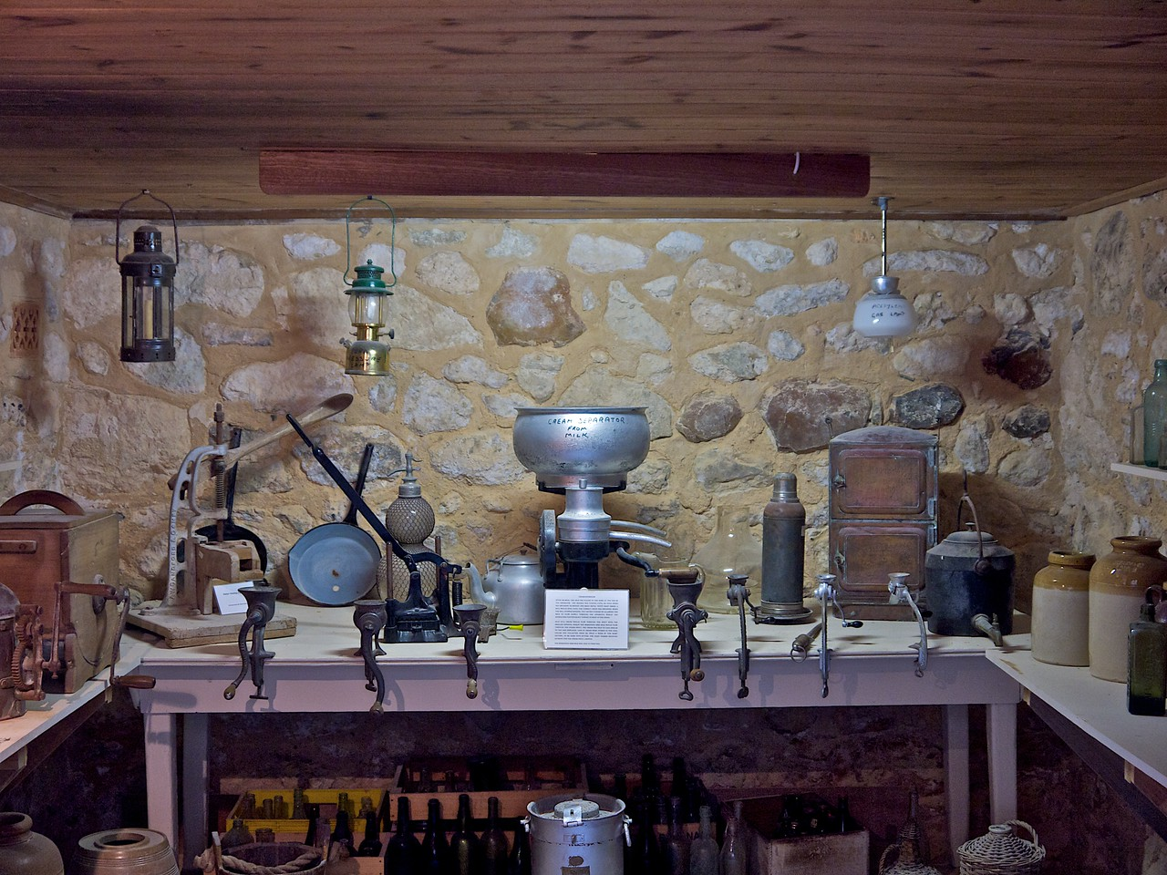 From the Cellar Display