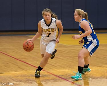 Hopkins girls vs Mohawk 12-15-14