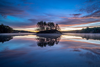 Morning Glory - Hopkinton State Park - Tom Sloan Print