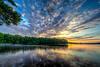 Golden Dawn - Hopkinton State Park - Tom Sloan