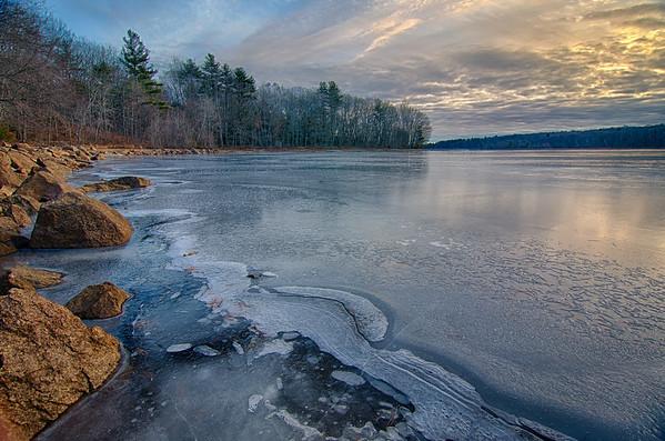 Icy Blue Dawn