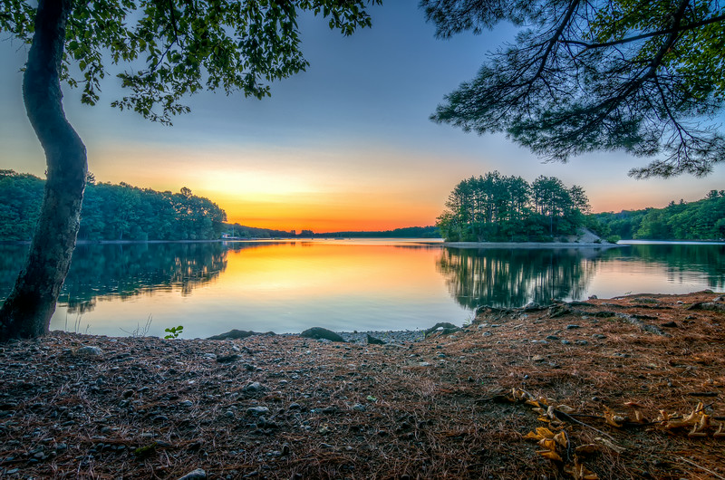 Sunrise at Hopkinton State Park