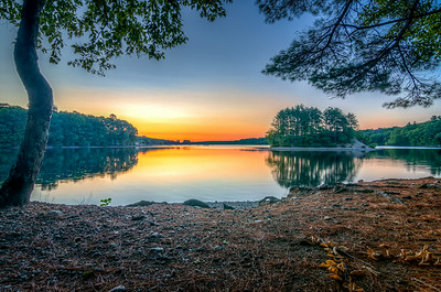Sunrise at Hopkinton State Park