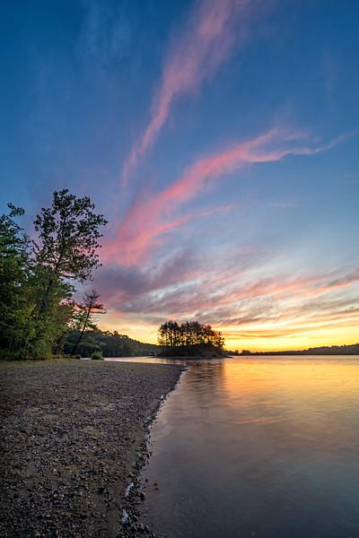 Breathing In - Sunrise - Hopkinton State Park
