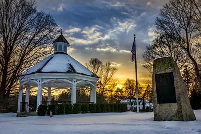 Hopkinton Town Common - Sunrise