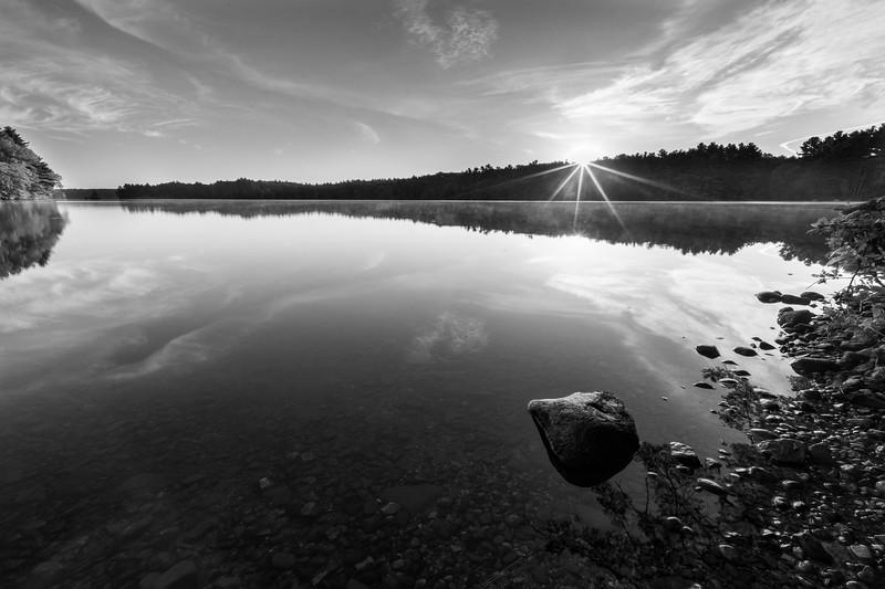 Peaceful Sunrise at Lake Whitehall - Tom Sloan