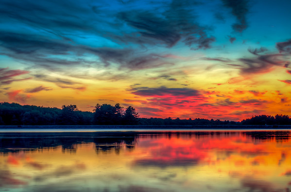 Summer Sunrise at Hopkinton State Park - Tom Sloan