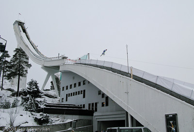 Holmenkollen, Oslo - in it's pre 2009 shape