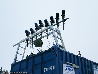 Video measuring system cameras in the flying hill