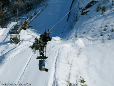 """Testing of NRK's """"flying"""" TV camera"""