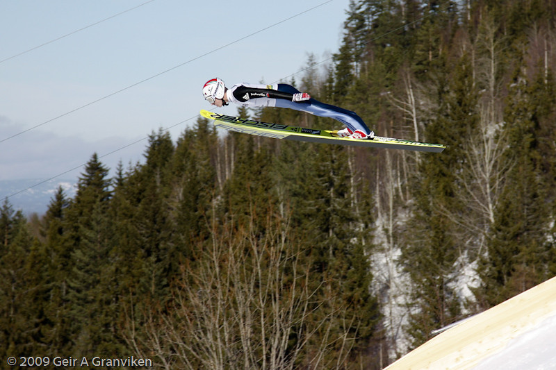 Simon Ammann (Sunday trial round)