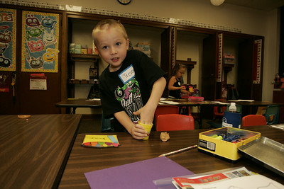Horace Mann Kindergarten 1st Day of School