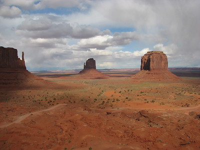 Monument Valley, Navajo park, AZ-UT