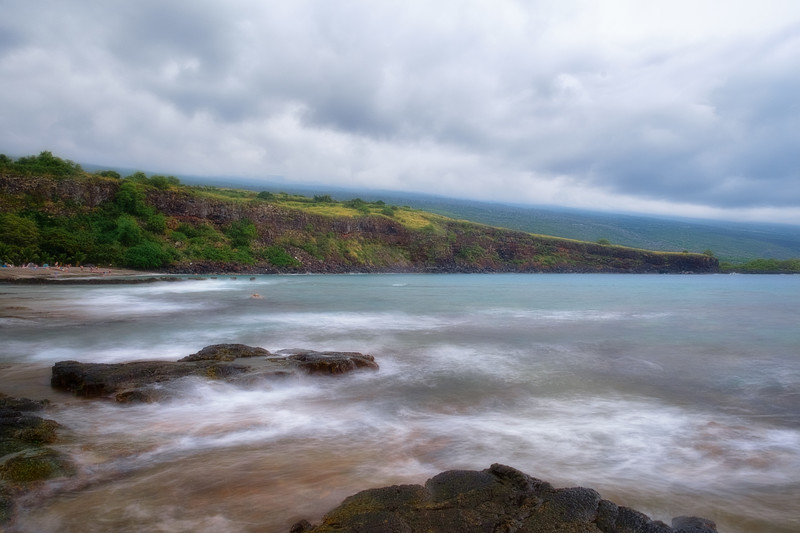 Rainy Day at Ho'Okaban Beach