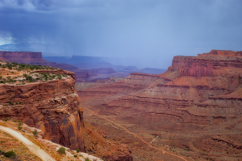 Canyonlands Shafer Canyon Overlook