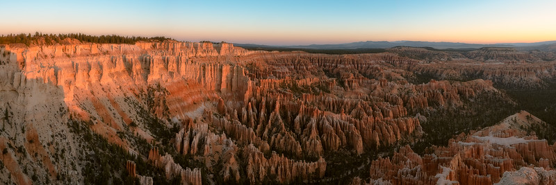 Bryce Point at Sunrise