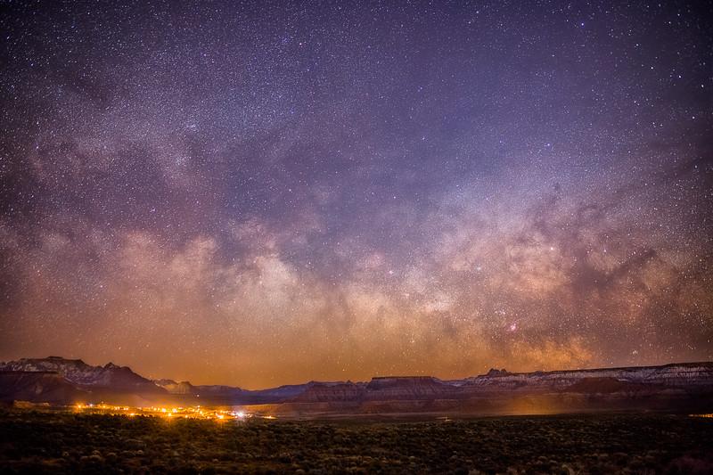 Virgin Under the Milky Way