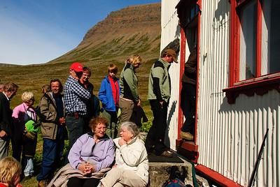 Messukaffi í prestsetrinu að Stað í Aðalvík