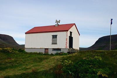Aðalvík - Sæból. Skólinn. 2010.